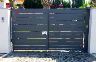 Cancello automatico KIKO Modern - cancelli automatici in stile moderno - Roma